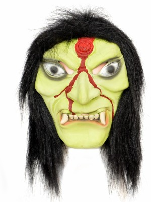 Tootpado Realistic Latex Rubber Adult Size Face - Witch 1a188 - Horror Halloween Ghost Scary Full Face Cosplay Costumes supplies Creepy Zombie Party Mask