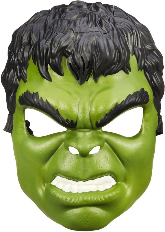 Marvel Age of Ultron Hulk Voice Changer Mask Party Mask(Green, Black, Pack of 1)
