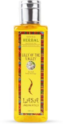 Lasa Aromatics Massage Oil Lilly of The Valley