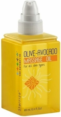The Nature,s Co Olive Avocado Massage Oil