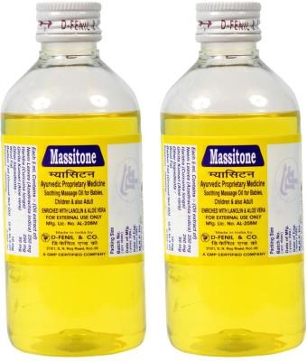 Massitone Massage Oil (Pack of 2)