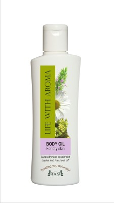 Life With Aroma Body Oil For Dry Skin