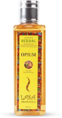Lasa Aromatics Massage Oil Opium