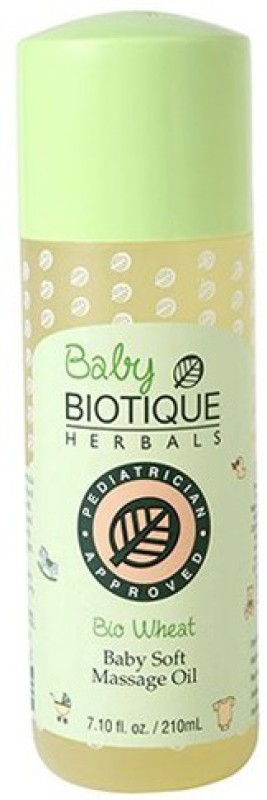 Biotique Bio Wheatgerm Baby Soft Massage Oil(210 ml)