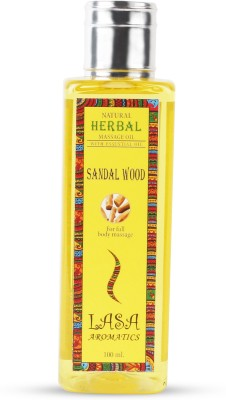Lasa Aromatics Massage Oil Sandalwood