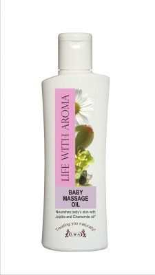 Life With Aroma Baby Massage Oil