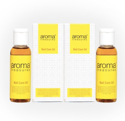 Aroma Treasures Nail Care Oil 50ml(Pack Of 2)