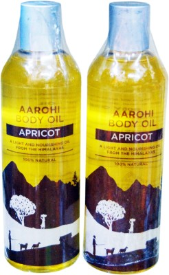 Aarohi Apricot Pure & Aromatic Body Oil For Supple Skin That Glows