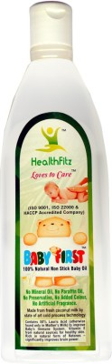 Baby First 100% Natural Baby Oil.