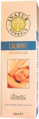 Inatur Herbals Calming Massage Oil