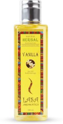 Lasa Aromatics Massage Oil Vanilla
