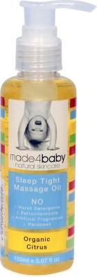 Made 4 Baby Organic Citrus Sleep Tight Massage Oil
