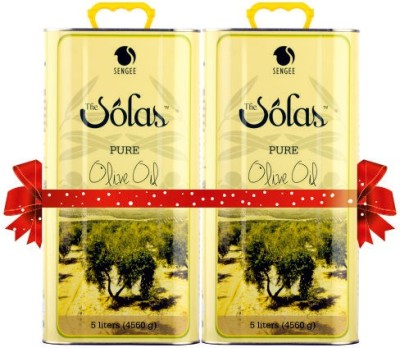 The Solas Pure Olive Oil - 5ltr (Pack of 2)
