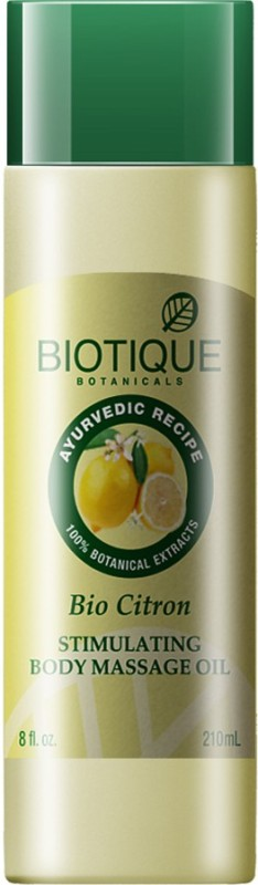 Biotique BIO CIT 210 ML(Stimulating Body Massage Oil)(210 ml)