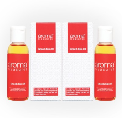 Aroma Treasures Smooth Skin Oil (Dry Skin)50ml (Pack Of 2)