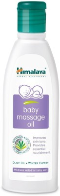 Himalaya Baby Massage Oil 200 ml x Pack of 4
