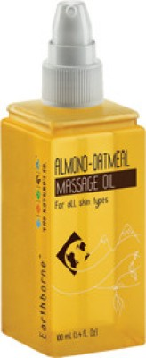 The Nature,s Co Almond Oatmeal Massage Oil