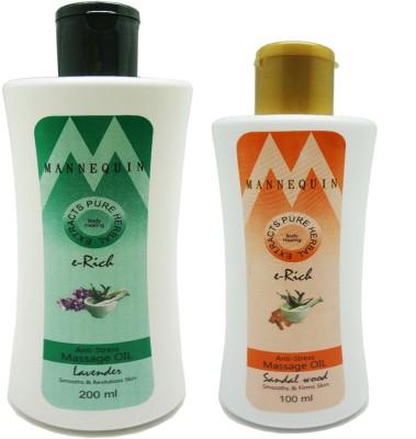 ManneQuin Sandal Wood, Lavender Massage Oil