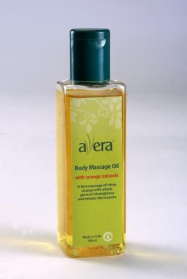 Avera Orange Massage oil
