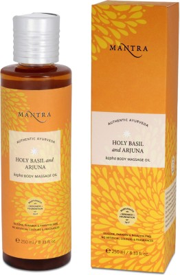 Mantra Holy Basil and Arjuna Kafa Body Massage Oil(250 ml)