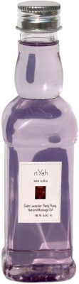 Nyah Calm Lavender & Ylang Ylang Massage Oil 190 ML
