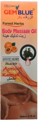 BioCare GemBlue Body Massage Oil Apricot Kernel