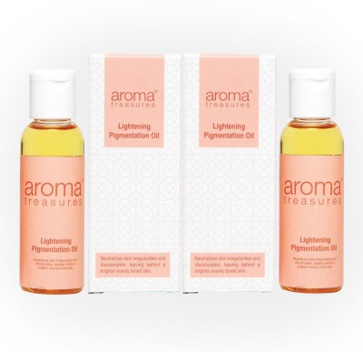 Aroma Treasures Lightening Pigmentation Oil 10ml (Pack Of 2)