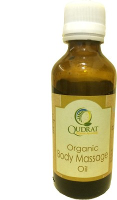 Qudrat Organics & Naturals Body Massage Oil