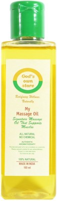 Gods Own Store My Massage Oil
