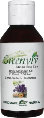 Greenviv Natural Baby Massage Oil
