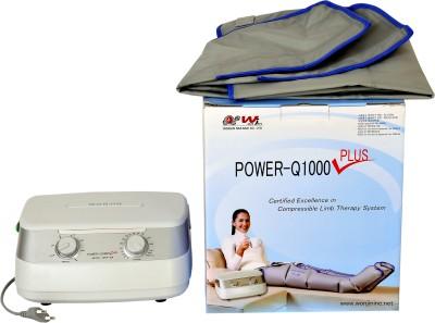 Wonjin Power Q1000 - Plus Leg and Foot Premium Air Pressure Massager (Grey)