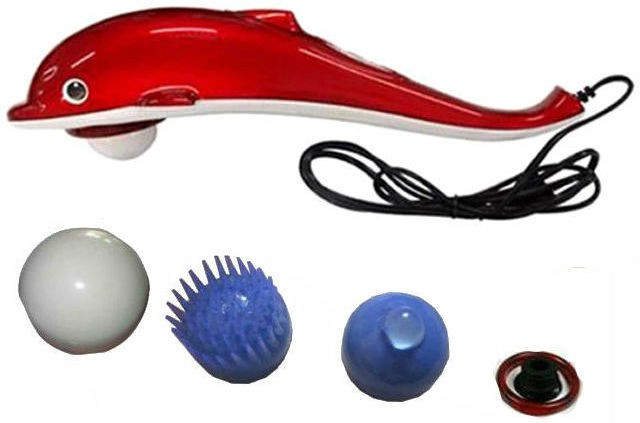 be26aa892bca Shrih SH - 0774 Handheld Dolphin Infrared Body Massager(Red) was ₹2199 now