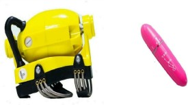 MSE MC-08 handy with female personal mini Massager(Yellow, Pink)