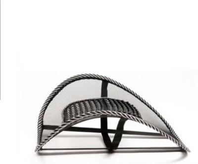 Bajya Car Seat Massage Chair Back Lumbar Support Mesh Ventilate Cushion Pad Massager