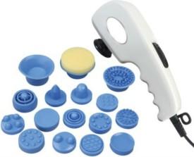 Shrih SH-1165 Vibrating 17 in 1 Body Massager(White)