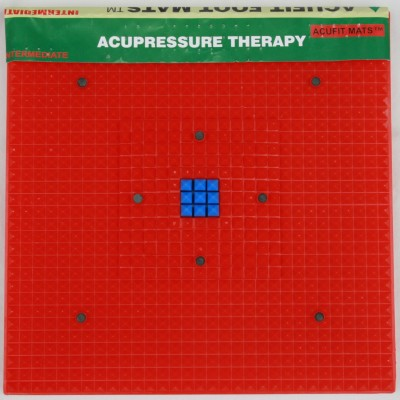 Gizmosoul AC002 Acupressure Mat With Pyramid Energy Massager