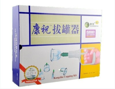 Acs Vaccum Cupping Set 24 Cup Massager(transferent)