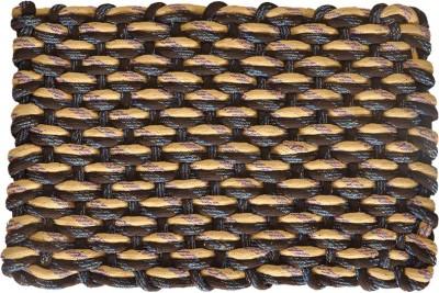 SHL Cotton Medium Door Mat Hand Knotted Floor Mat