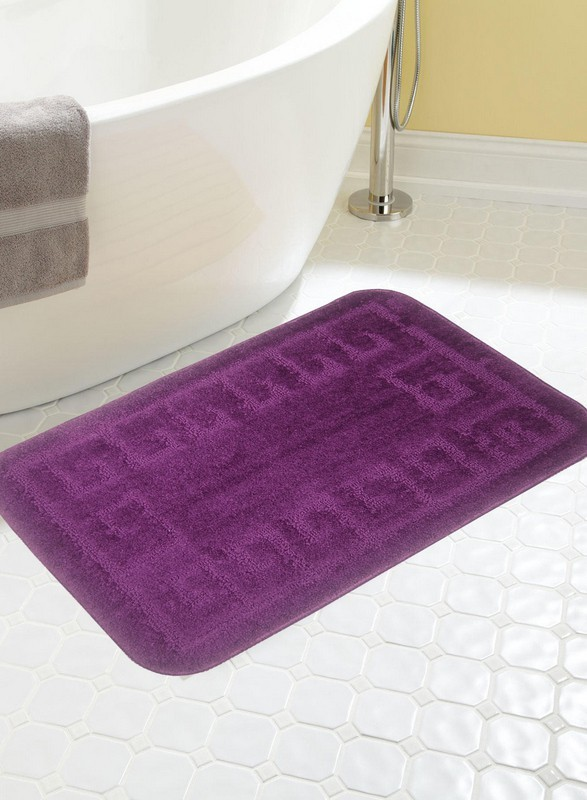 BIANCA Microfiber Anti-slip/Anti-grease Mat BATH MAT(WINE, Medium)