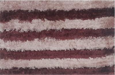 Welhouse Polyester Medium Door Mat Striped