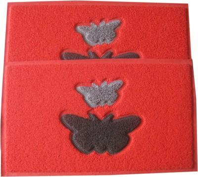Krishna Carpets Rubber Large Door Mat Butterfly Rubber Mat