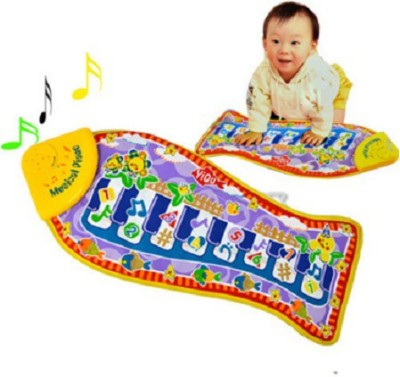 Taaza Garam Nylon Medium Play Mat Musical imported quality baby mat gym piano with touch music gift