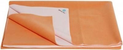 Quick Dry Cotton Medium Changing Mat Plain Medium Peach