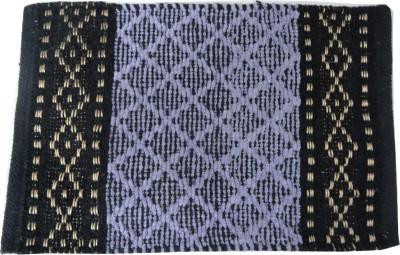 Kalash Cotton Medium Floor Mat Diamond Doorment