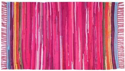 Homenblingss Cotton Small Door Mat Equals2 Pink rug