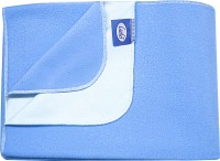 Little's Sleeping Mat Easy Dry Bed Protector(Blue, Large)