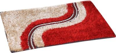 The Handloom Store Polyester Pongee Medium Floor Mat Fancy fur mat
