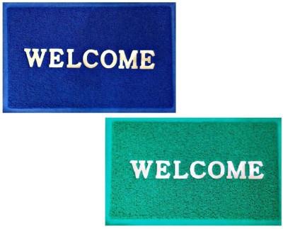 Zesture Plastic Medium Door Mat WelcomePlasticMats