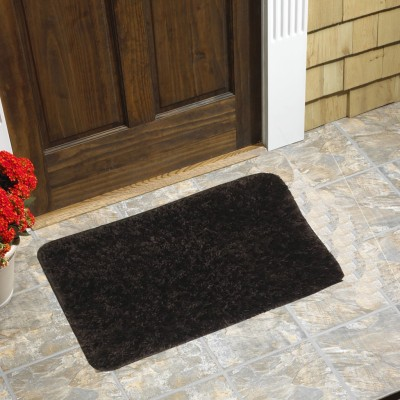 Homefab India Polyester Small Floor Mat FurMat