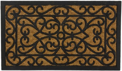 SWHF Rubber, Coir Medium Door Mat SWHF Rubber and Coir Mat: Rectangle